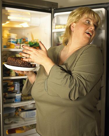 transtorno alimentar noturno mulher