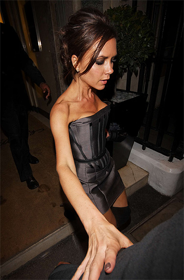 Victoria Beckham Anorexia mulheres
