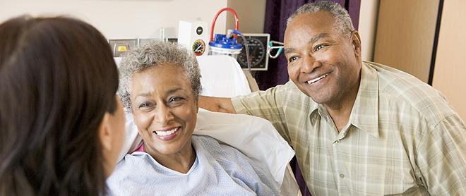 Casal unido encara melhor o câncer feminino