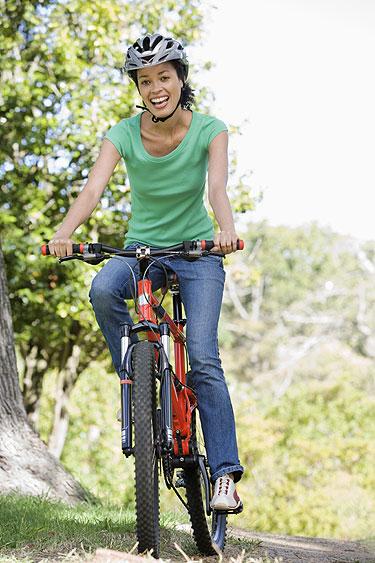 Os benefícios do ciclismo para a mulher